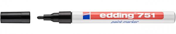 Edding 751 Lackmalstift schwarz