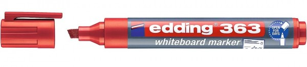 Edding 363 Whiteboardmarker A8 rot