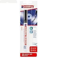 Edding 8400/1 BL CD/DVD/BD Marker schwarz