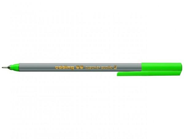 Edding 55 Fineliner hellgrün 0,3mm