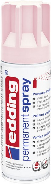 Edding Permanent-Spray 5200 pastellrosa seidenmatt 200ml