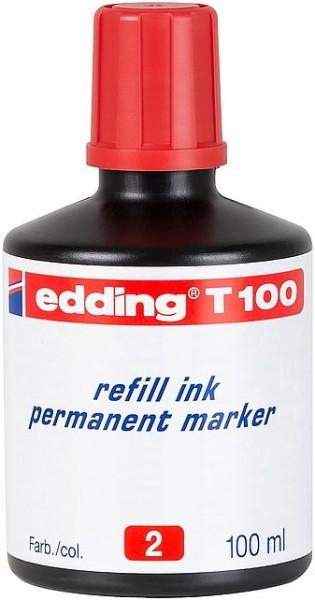 Edding T100 refill ink perm. marker rot