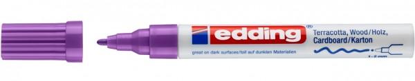 Edding 4040 CR Mattlackmarker violett