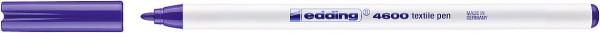 Edding 4600 Textilmarker violett