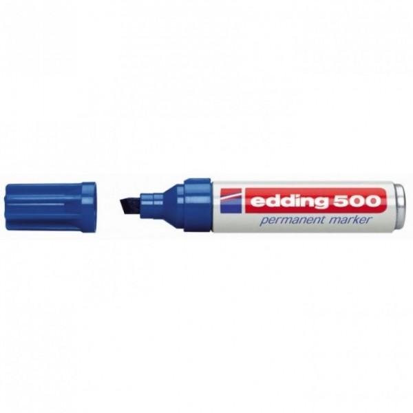 Edding 500 Permanentmarker blau 2-7mm