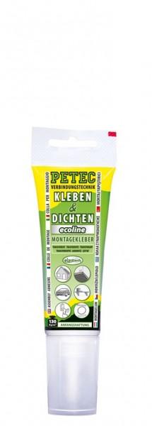 Petec Kleben & Dichten ecoline 80ml transparent