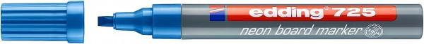 Edding 725 neon board marker neonblau