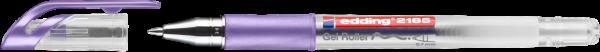 Edding 2185 Gel Roller violett-metallic