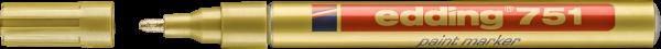 Edding 751 Lackmalstift gold