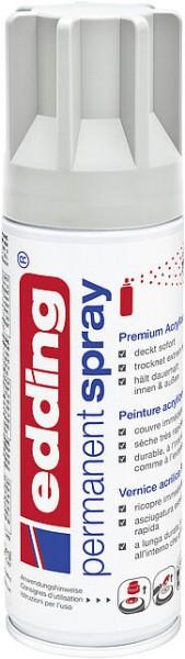 Edding Permanent-Spray 5200 lichtgrau seidenmatt 200ml