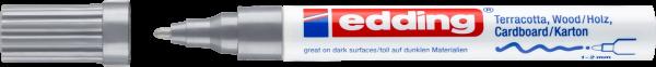 Edding 4040 CR Mattlackmarker silber