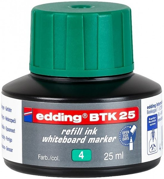 Edding BTK 25 refill service board mark. grün