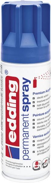 Edding Permanent-Spray 5200 enzianblau seidenmatt 200ml
