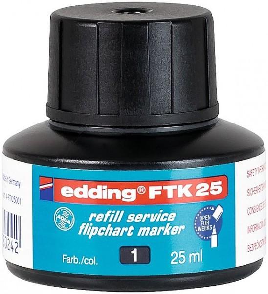 Edding FTK 25 Nachfülltinte schwarz