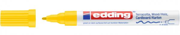 Edding 4040 CR Mattlackmarker gelb