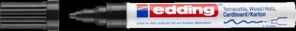 Edding 4040 CR Mattlackmarker schwarz