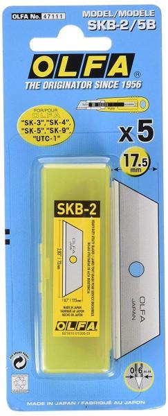 OLFA Klinge SKB-2/5B 17,5mm 5er Pack
