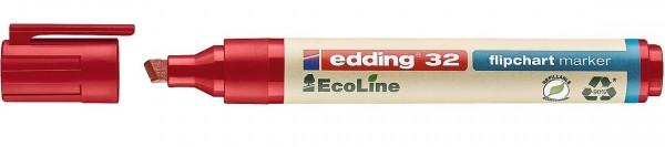 Edding 32 Ecoline flipchart marker rot