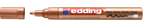 Edding 750 Lackmalstift 055 kupfer 2-4mm