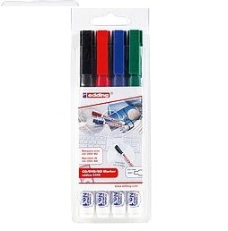 Edding 8400/4 S CD-Marker set
