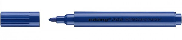 Edding 366 mini Whiteboardmarker blau