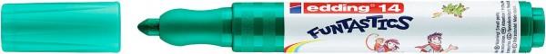 Edding 14 Funtastics Fasermaler grün