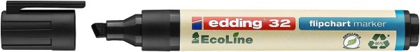 Edding 32 Ecoline flipchart marker schwarz