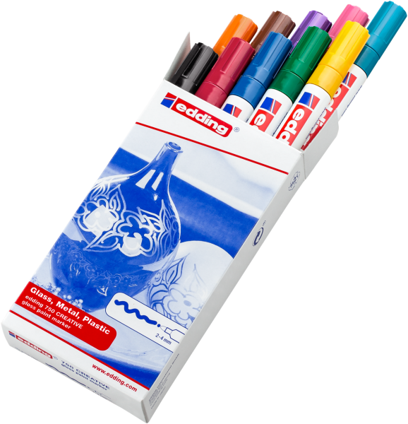 Edding 750 Lackmalstift Sortiment alle Farben