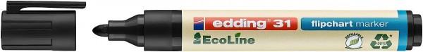 Edding 31 Ecoline flipchart marker schwarz