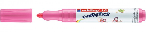 Edding 14 Funtastics Fasermaler rosa