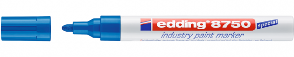 Edding 8750 Lackmalstift industry blau