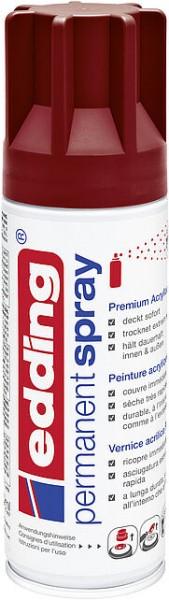 Edding Permanent-Spray 5200 purpurrot RAL 3004 seidenmatt 200ml