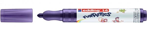 Edding 14 Funtastics Fasermaler violett