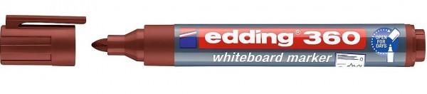 Edding 360 Whiteboardmarker A8 braun