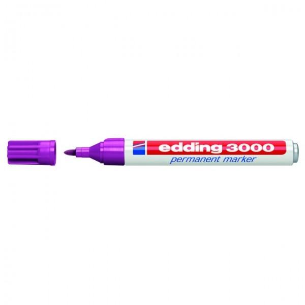 Edding 3000 Permanentmarker rotviolett