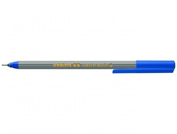 Edding 55 Fineliner blau 0,3mm