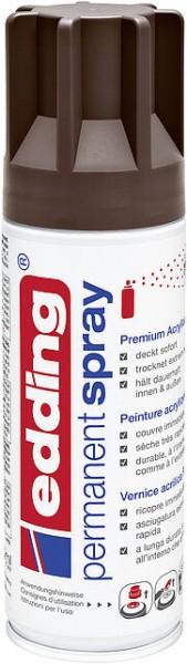 Edding Permanent-Spray 5200 schokobraun seidenmatt 200ml