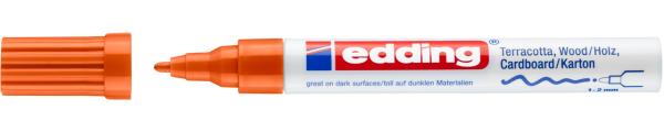 Edding 4040 CR Mattlackmarker orange
