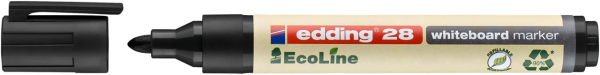 Edding 28 EcoLine Whiteboardmarker schwarz
