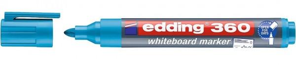 Edding 360 Whiteboardmarker A8 hellblau