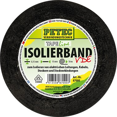 Petec Isolierband VDE 15mm X 10m
