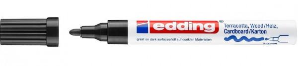 Edding 4000 Mattlackmarker schwarz