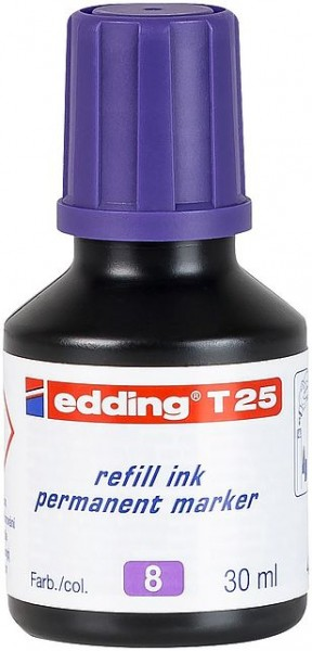 Edding T25 Permanentmarkertusche violett 30ml
