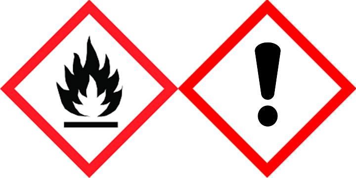 Entflammbar-Achtung