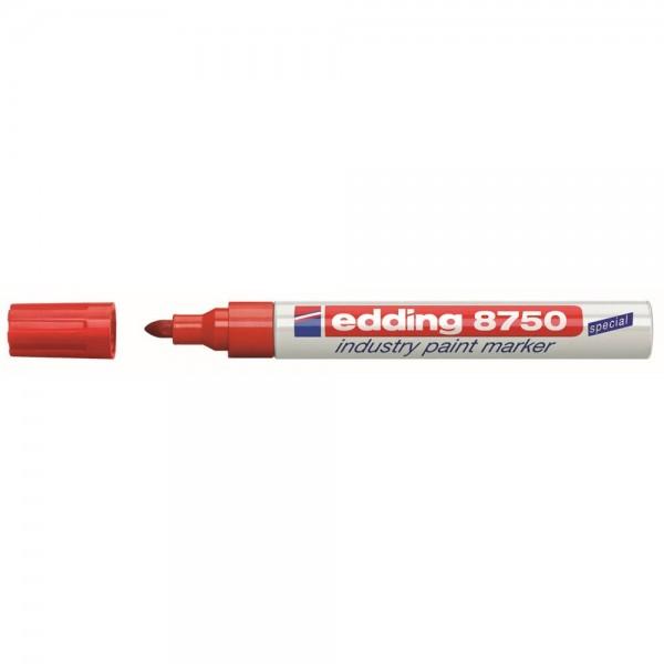 Edding 8750 Lackmalstift industry rot