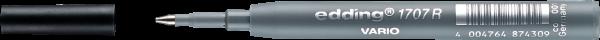 Edding 1707 R Vario Mine Roller schwarz