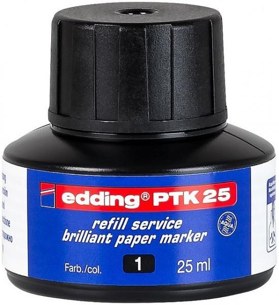 Edding PTK 25 Nachfülltinte schwarz