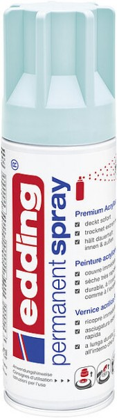Edding Permanent-Spray 5200 pastellblau seidenmatt 200ml