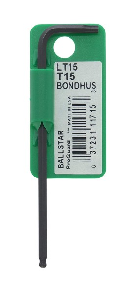 Bondhus Ballstar Torx Einzelschlüssel lang, T15