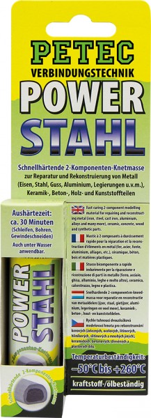 Petec POWER Stahl 50g, SB-Karte